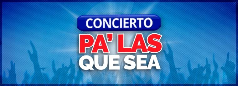 portada galeria concierto pa' las que sea